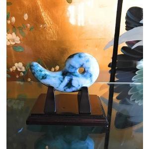 玉(ぎょく)…古代社会の権力の象徴石「勾玉」(まがたま) 純国産糸魚川翡翠(ひすい)製品の中でも極上...