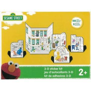 SESAME STREET 3−D sticker kit|theoutletbookshop