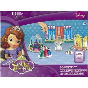 Disney Sofia the First 3−D STICKER KIT|theoutletbookshop