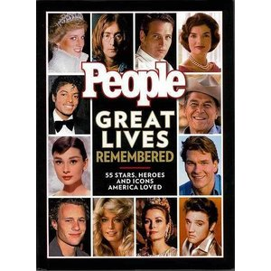 People GREAT LIVES REMEMBERED|theoutletbookshop