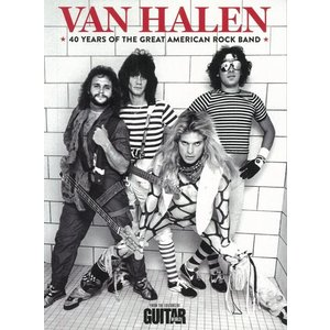 VAN HALEN−40 YEARS OF THE GREAT AMERICAN ROCK BAND|theoutletbookshop