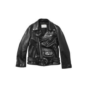 【正規販売】beautiful people ビューティフルピープル16-17A/W 定番ライダースジャケット vintage leather riders jacket BLACK|thepark