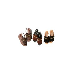 【正規販売】beautiful people(ビューティフルピープル) 15-16A/W nubuck platform sandal black 40%OFF|thepark