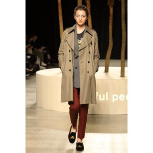 【正規販売】beautiful people(ビューティフルピープル)  15-16A/W 定番 ultimate pima trench camelbeige|thepark