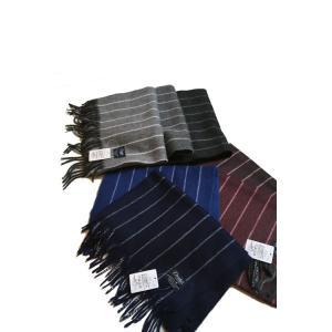 【正規販売】DRAKE'S(ドレイクス)チョークストライプマフラー[全7色] CHALK Stripe Scarf thepark