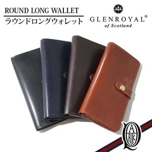【正規販売】GLENROYAL(グレンロイヤル) ROUND LONG WALLET [4色]|thepark