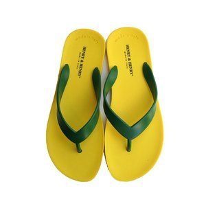 【正規販売】HENRY&HENRY(ヘンリー&ヘンリー) Flipper Sandal YELLOW/GREEN|thepark