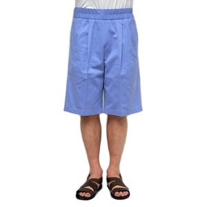 【正規販売】KRIS VAN ASSCHE(クリスヴァンアッシュ) SHORT TROUSERS BLUE|thepark