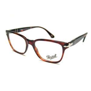【正規販売】Persol(ペルソール) PO3003V ウェリントン眼鏡フレーム HAVANA|thepark