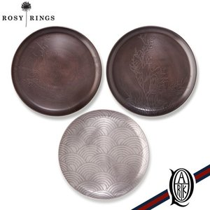 【正規販売】ROSY RINGS(ロージーリングス)アクセサリー ボタニカルプレート|thepark