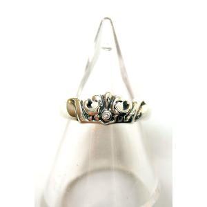 【正規販売】ROYAL ORDER(ロイヤルオーダー) MARIE CROWN BAND SILVER ダイヤモンド thepark