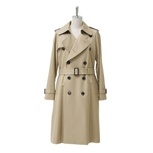 【正規販売】beautiful people ビューティフルピープル 16-17A/W ultimatepima long trench coat camelbeige|thepark