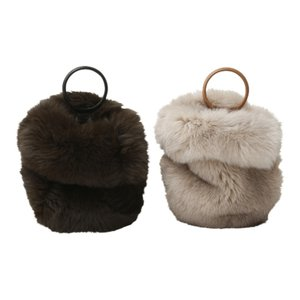 【正規販売】beautiful people ビューティフルピープル 16-17A/W fox fur glove bag beige 40%OFF|thepark