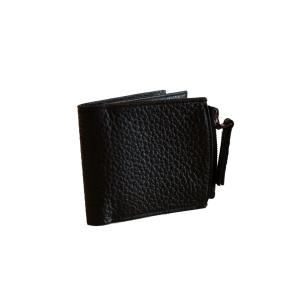 Maison Margiela メゾン マルジェラ メンズ 17-18A/W 定番 LETHER WALLET  S 900 BLACK|thepark