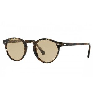 OLIVER PEOPLES オリバーピープルズ ユニセックス OLIVER PEOPLES POUR ALAIN MIKLI Gregory Peck Sun Palmier Chocolat with Yellow Wash|thepark