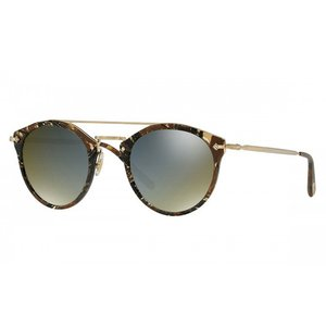 OLIVER PEOPLES オリバーピープルズ ユニセックス OLIVER PEOPLES POUR ALAIN MIKLI Remick Palmier Chocolat with Graphite Gold|thepark