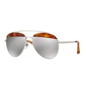 OLIVER PEOPLES オリバーピープルズ ユニセックス Alain Mikli pour Oliver Peoples Paon Semi-Matte LBR/Brushed Silver with Silver Mirror|thepark