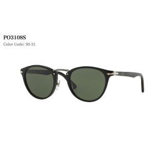 【正規販売】Persol ペルソール PO3108S 95 31 サングラス BLACK|thepark