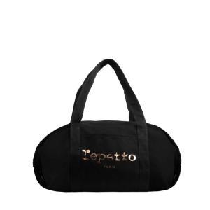 【正規販売】repetto レペット レディース Duffle bag Big Glide BLACK|thepark