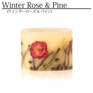 【正規販売】ROSY RINGS(ロージーリングス)プティボタニカルキャンドル ウィンターローズ&パインの香り|thepark