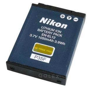 Nikon EN-EL12 Li-ionリチャージャブルバッテリー