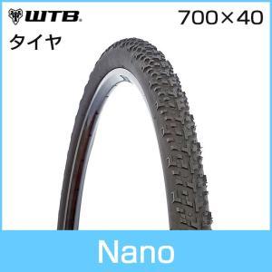 WTB Nano (ナノ) 700 x 40C RACE 自転車タイヤ「71065」|thepowerful