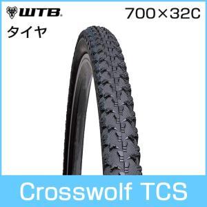 WTB Crosswolf TCS (クロスウルフ TCS) 700 x 32C 自転車タイヤ「71067」|thepowerful