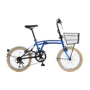 DOPPELGANGER ドッペルギャンガー m6-BLUE エムシックス 折りたたみ自転車 ミニベロ 小径車「8386」|thepowerful