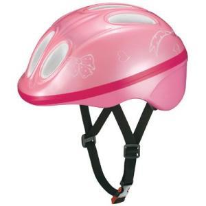 OGK チャビー Chabby 幼児用ヘルメット ピンク 自転車用品 「55021-T448」|thepowerful