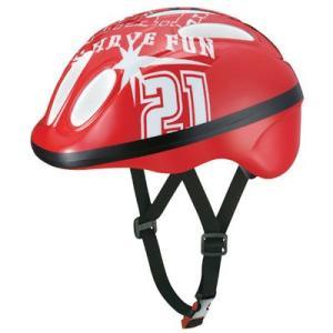 OGK チャビー Chabby 幼児用ヘルメット レッド 自転車用品 「55020-T433」|thepowerful