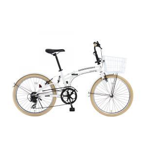 DOPPELGANGER ドッペルギャンガー m6-24-WH mobility6 折りたたみ自転車 ミニベロ 7段変速 24インチ|thepowerful