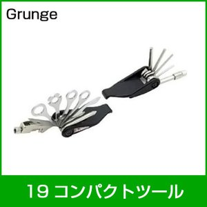 grunge グランジ 19 コンパクトツール 自転車工具「74640」 thepowerful