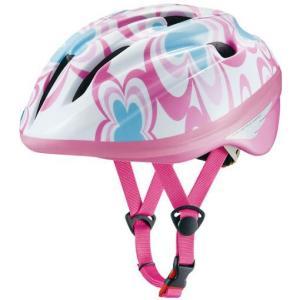 OGK ジェイ・クレス2 J-CULES2 子供用ヘルメット フラワーピンク 自転車用品 「55011-T432」|thepowerful