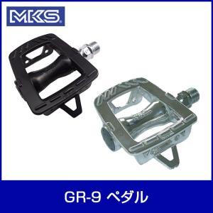 MKS 三ヶ島製作所 GR-9 ペダル ブラック 自転車|thepowerful