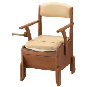 アロン化成 家具調トイレコンパクト 暖房便座タイプ 30%off・送料無料(533-674)|therapy-shop
