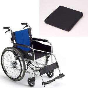 クッション付き+ミキ製BAL-1(バル1) 上質な乗り心地を車椅子専用セラピークッション付 セラピーならメーカー正規保証付き/条件付き送料無料|therapy-shop