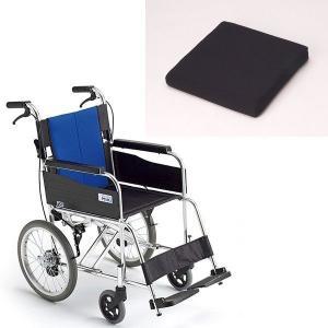 クッション付き+ミキ製BAL-2(バル2) 上質な乗り心地。車椅子専用セラピークッション付 セラピーならメーカー正規保証付き/条件付き送料無料|therapy-shop