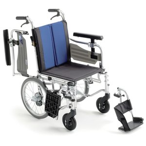 BAL-6(バル6) 車椅子(車いす) ミキ製 セラピーならメーカー正規保証付き/条件付き送料無料 ノーパンクタイヤ|therapy-shop