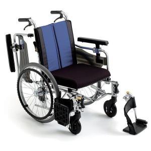 BAL-9(バル9) 車椅子(車いす) ミキ製 セラピーならメーカー正規保証付き/条件付き送料無料 ノーパンクタイヤ標準装備|therapy-shop