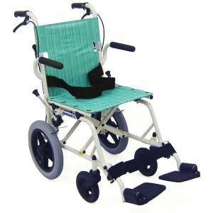 KA6 コンパクト旅行用車椅子(車いす) カワムラサイクル製 セラピーならメーカー正規保証付き/条件付き送料無料 旅ぐるまシリーズ|therapy-shop
