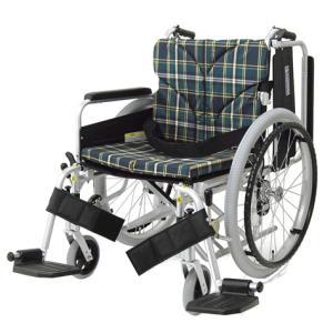 KA822-45B 車椅子(車いす) カワムラサイクル製 セラピーならメーカー正規保証付き/条件付き送料無料 ビッグサイズ車いす 座幅45cm 耐荷重100kg|therapy-shop