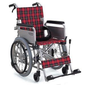KAK18-40B(ブレーキ付き) 車椅子(車いす) カワムラサイクル製 セラピーならメーカー正規保証付き/条件付き送料無料 小回りの6輪車|therapy-shop