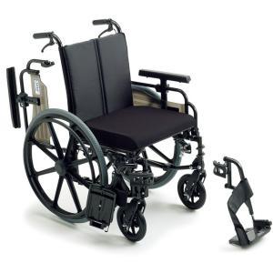 KJP-4 車椅子(車いす) ミキ製 セラピーならメーカー正規保証付き/条件付き送料無料  ビッグサイズ 座幅45cm 耐荷重130kg/大きい方|therapy-shop