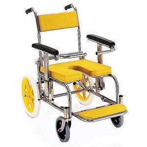 KS2 入浴用車椅子(車いす) カワムラサイクル製 セラピーならメーカー正規保証付き/条件付き送料無料 さびに強く、病院・施設向き|therapy-shop