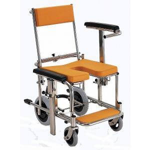 KS3 入浴用車椅子(車いす) カワムラサイクル製 セラピーならメーカー正規保証付き/条件付き送料無料 コンパクトでご家庭でも使いやすい|therapy-shop
