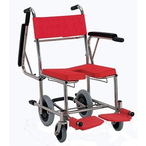 KS4 入浴用車椅子(車いす) カワムラサイクル製 セラピーならメーカー正規保証付き/条件付き送料無料 入浴・シャワー・室内と1台3役の万能型|therapy-shop