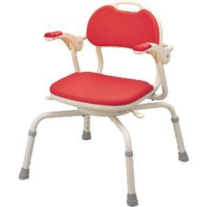 アロン化成安寿 まわるくん  機能=背付き、ひじ掛け、座面ソフトパッド360度回転 24%off.送料無料 |therapy-shop