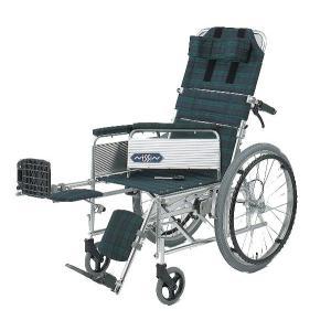 NA-117B(自走用) リクライニング自走用車椅子(車いす) 日進医療器製 セラピーならメーカー正規保証付き/条件付き送料無料|therapy-shop