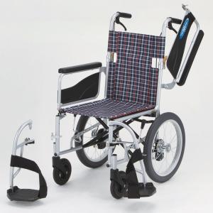 NEO-2W(ネオ2W) 車椅子(車いす) 日進医療器製 セラピーならメーカー正規保証付き/条件付き送料無料 多機能・ノ-パンクタイヤ|therapy-shop