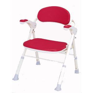 アロン化成安寿TS  機能=折りたたみ  背もたれ  ひじ掛け跳ね上げ  24%off・送料無料|therapy-shop